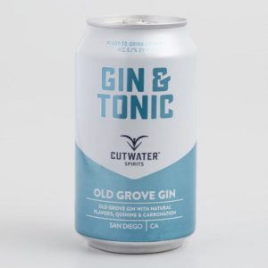 Cutwater Gin and Tonic